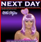 FANCY DRESS WIG # CANDY QUEEN KATY PERRY LILAC WIG